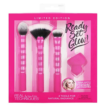 REAL TECHNIQUES Ready Set Glow Set