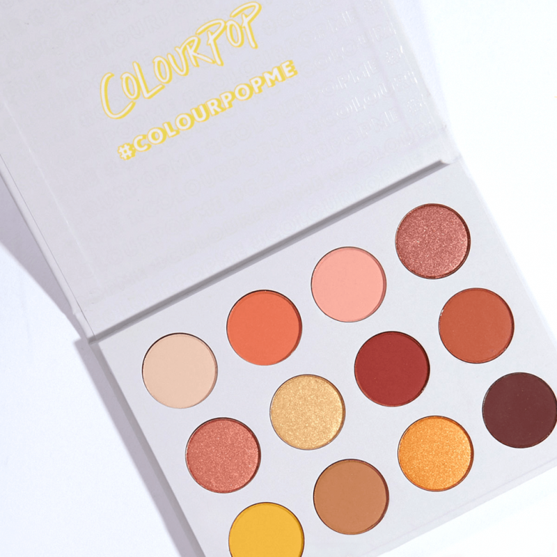 COLOURPOP Pressed Powder Shadow Palette - Yes, Please!