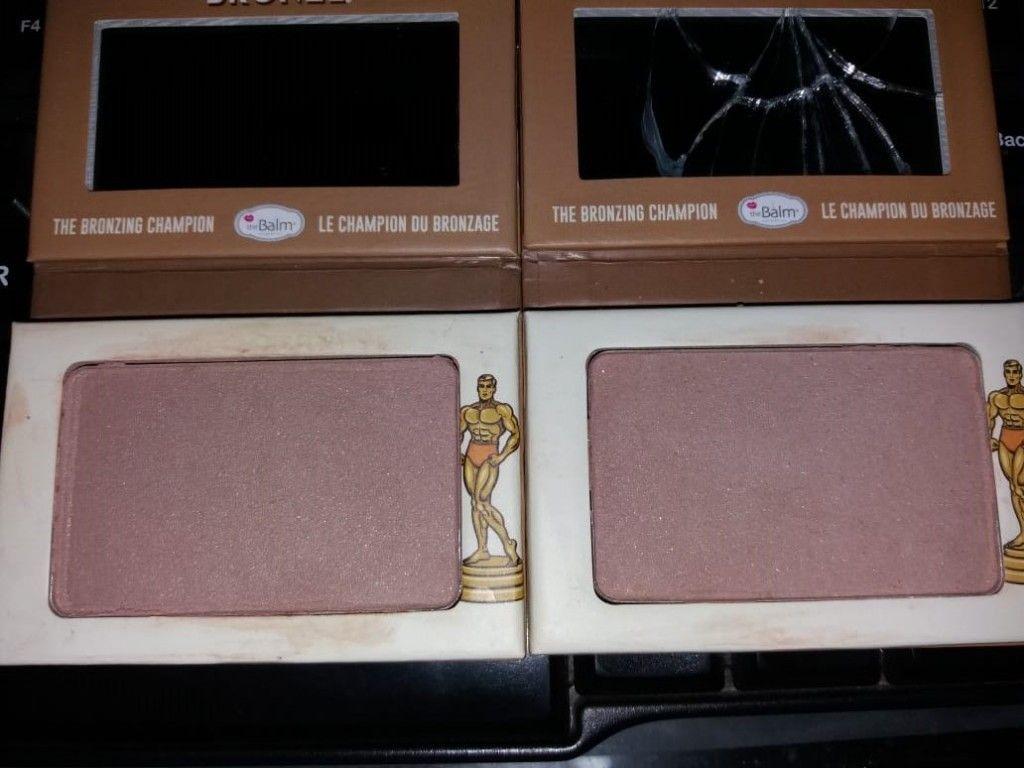 THE BALM Take Home The Bronze Anti Orange Bronzer OLIVER OSCAR DEFECT Ex Pecah Di Repress