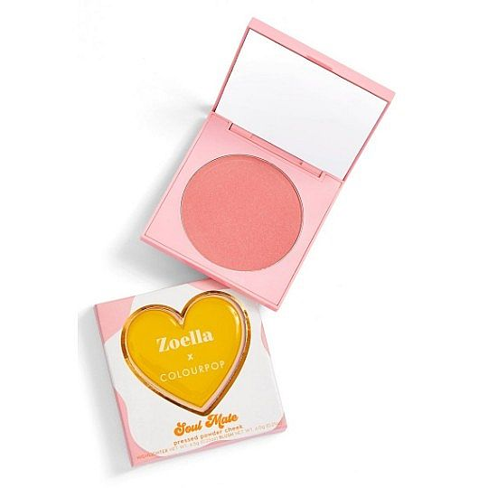 COLOURPOP X ZOELLA Pressed Powder Blush