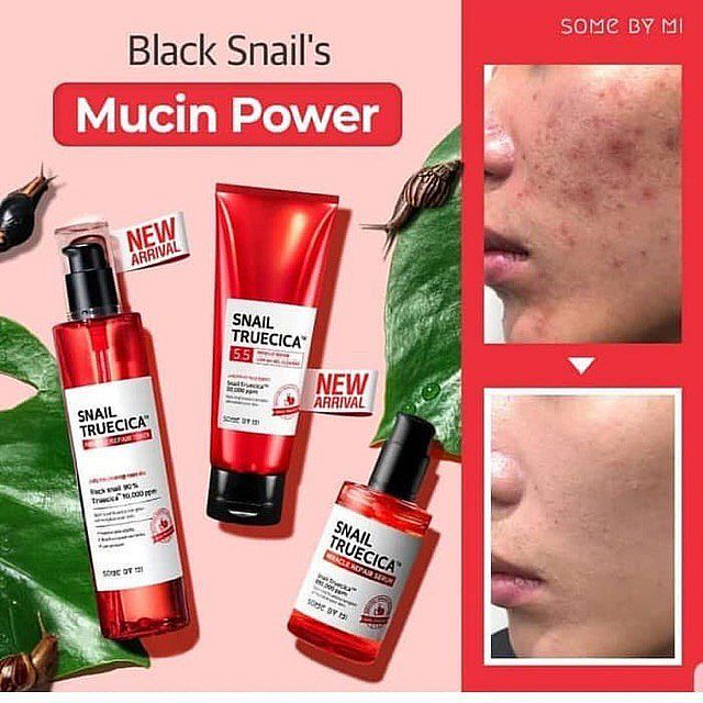 BUNDLE SET SOME BY MI Snail Truecica Miracle Repair Set ( 3 pcs item )