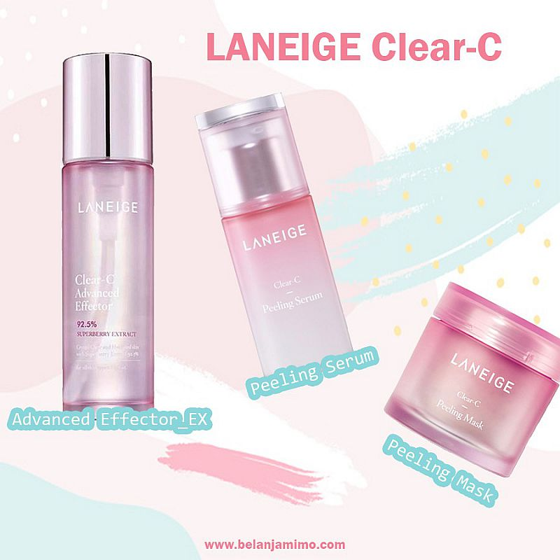 BUNDLE SET LANEIGE LANEIGE Clear-C Series